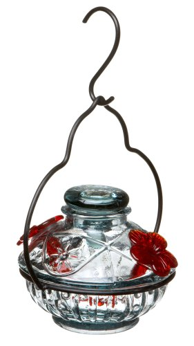 Parasol PDCCL Pot de Creme Hummingbird Feeder Clear -