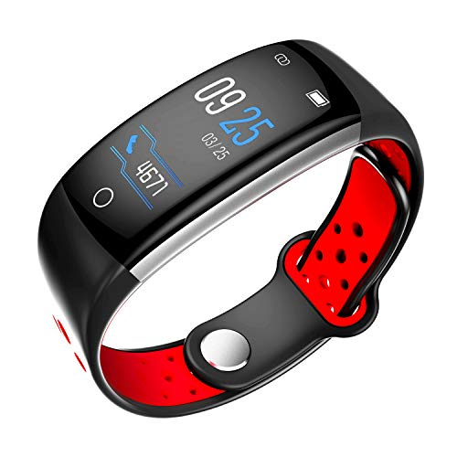 (Smart watch with heart rate blood pressure, blood oxygen sleep monitoring, super waterproof, Bluetooth, sports multi-function watch, for Android platform, Apple iOS platform, suitable for people, busi)