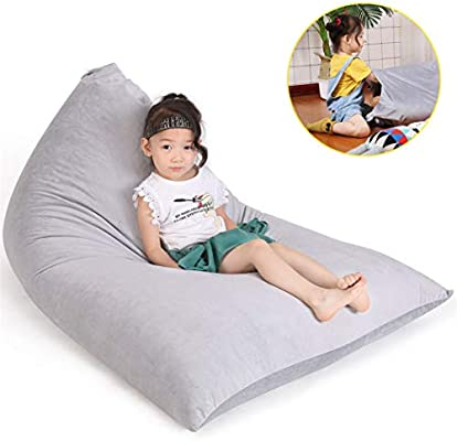 Sensational Stuffed Animal Storage Bean Bag Chair For Kids And Adults Bralicious Painted Fabric Chair Ideas Braliciousco