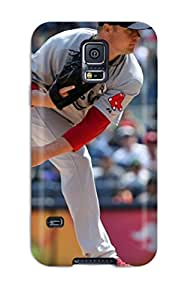 5586063K151906610 boston red sox MLB Sports & Colleges best Samsung Galaxy S5 cases