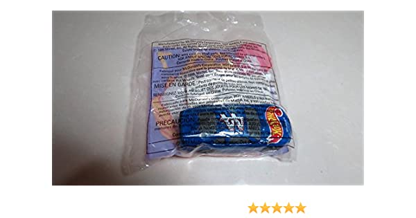 Amazon.com: McDonalds - NASCAR HOT WHEELS #7 with Stickers, 1998: Toys & Games