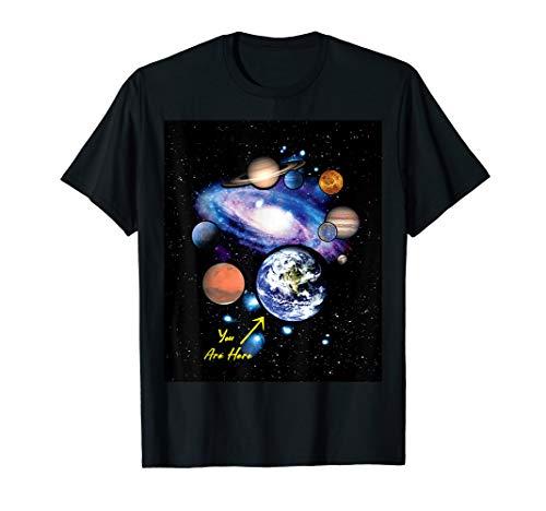 19c1f4500 Funny space planet christmas gift tshirt shop al mejor precio de ...