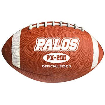 Palos PX-200 Traditional Rubber Football - Single Ball (3, Junior) (Football Kits Junior)
