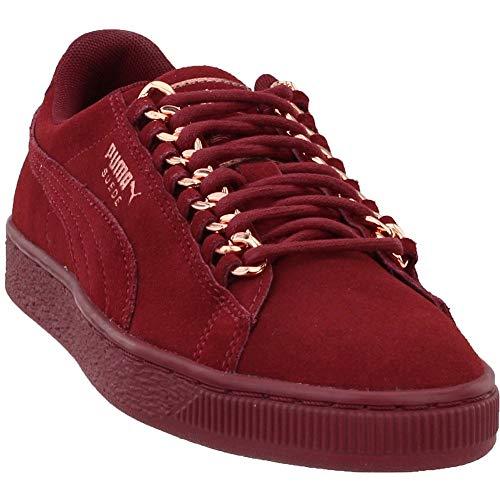 (PUMA Women's Suede Classic Sneaker, Pomegranate-Rose Gold, 6 M US)