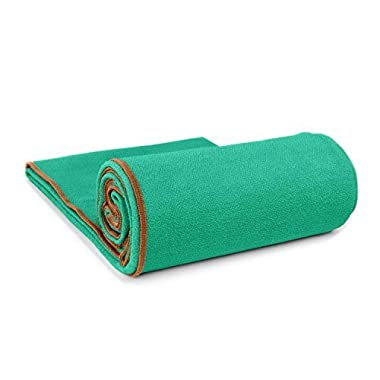 The XL for XL yoga mats: 100% Microfiber, super-absorbent, enhances grip and protects your mat. Many colors to choose from. 26  x 85