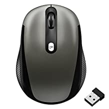 Wireless Mouse, JETech M0770 2.4Ghz Wireless Mobile Optical Mouse with 3 CPI Levels, USB Wireless Receiver - 0770