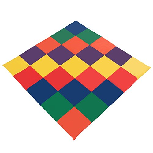 Costzon Baby Play Mat, PVC Leather Waterproof Foam Soft Mat with Multi-Colors, Toddler Activity Cushioned ()