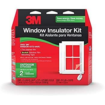 3m Outdoor Window Insulator Kit 2 Window