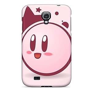 JamieBratt Samsung Galaxy S4 Protector Hard Phone Cases Provide Private Custom HD Kirby Pictures [Scv17436SRFk]