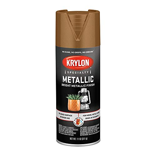 (Krylon 1708 Metallic Paints, Brass )