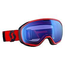 Scott 2016/17 Fix Snow Goggle - 244589 (Fluo Red/Eclipse Blue/Blue Chrome) by Scott Sports