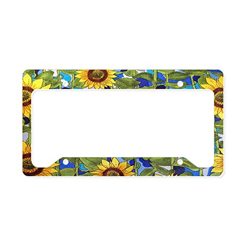 CafePress 5654308018_Cd50476935_Z Aluminum License Plate Frame, License Tag Holder (License Plate Frame Cafe Press)