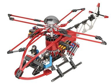 Value Series Winch (LOZ Motor Building Block Helicopter Special Task Force 205pcs - 6012)
