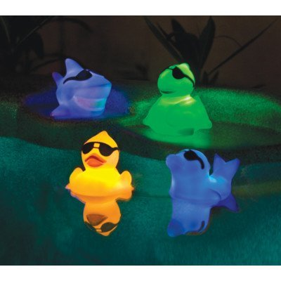 - GAME 3576-04 Floating Light Up Pals (4 Pack)