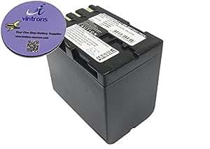 Brundle vintrons - 3300 mAh batería de repuesto para JVC CU-VH1, GR-D230, gr-d230ek, + apoyavasos vintrons