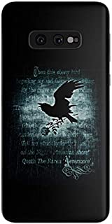 product image for Nevermore Protective Decal Sticker for Samsung Galaxy s10e - Scratch Proof Vinyl Skin Wrap Thin Edge Line Cover and Made in USA