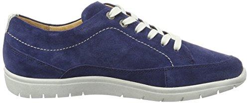 Blau de Weiss g Mujer Gill Zapatos Darkblue Derby Cordones para Ganter OT8gqxp