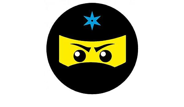 Amazon.com: 1art1 Gaming Sticker Adhesive Decal - Ninja Icon ...