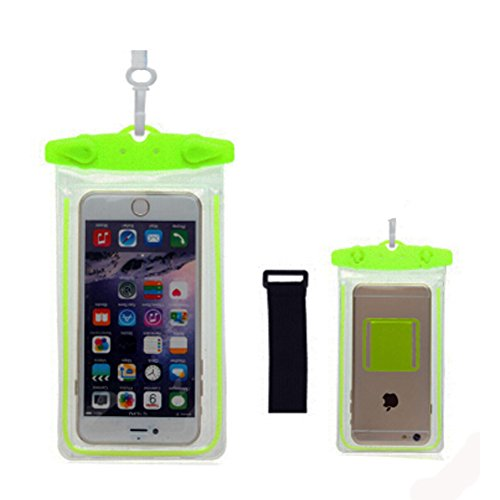 Boîtier étanche de téléphone portable à secSac pochette pour téléphoneVert olive