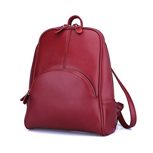 Donna colore Casual Nero Borsa Leggero Da Yyzcl Zaino Rosso Per S7xppO
