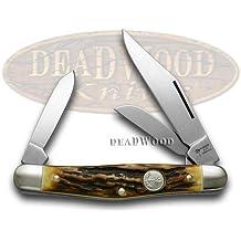 BOKER TREE BRAND Genuine Stag Stockman Pocket Knife Knives