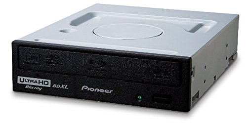 Pioneer Internal BD/DVD/CD Writer Drive Supporting Ultra HD Blu-ray Playback for PC (BDR-211UBK) - With CyberLink Media Suite 10, Bonus Organize and Create Windows Software, and Optical Cleaning Cloth by Plethora7 (Image #2)