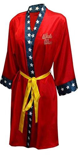 [Wonder Woman Gal Gadot Diana Prince Robe] (Wonder Woman Robe)