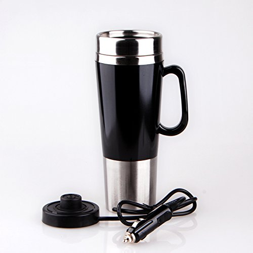 400ml Vacuum Insulated Stainless Steel Travel Mug Car Cup wi