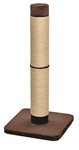 MidWest 'Forte' Ultimate Cat Scratching Post w/ Extra-Durable Sisal Wrap, Brown & Tan, Giant XXL Cat Post