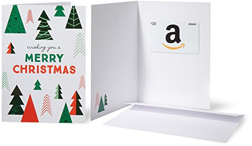 Card in a Greeting Card (Christmas Tree) ()