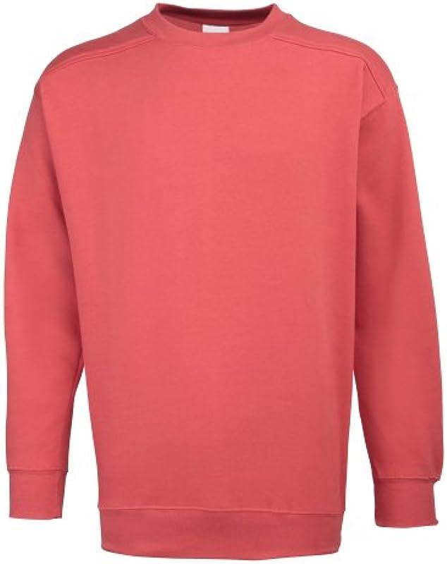RTY Workwear męska bluza/sweter z okrągłym wycięciem pod szyją: Odzież