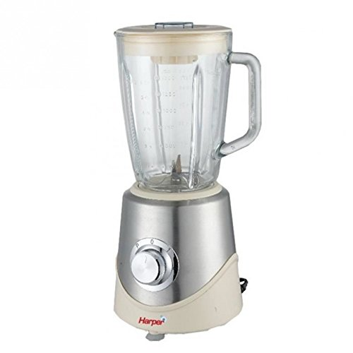 Harper TC 2001 - Blender de acero inoxidable, 1,5 l, color crema ...