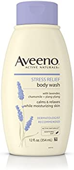 3-Pack Aveeno Stress Relief Body Wash