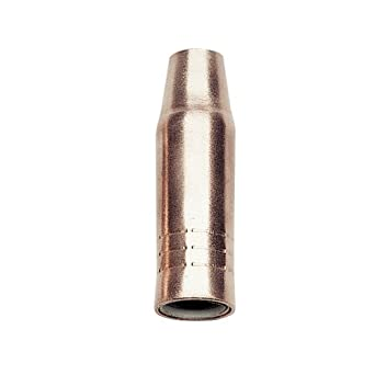 Lincoln eléctrica kp23 – 50 F cobre fijo empotrado MIG gas boquilla, 1/2