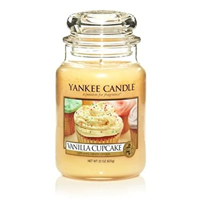 Yankee Candle Vanilla Cupcake Medium Jar 14.5oz Candle