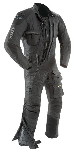 Joe Rocket 1370-4003 Survivor Men's Textile Touring Suit (Black, Medium)