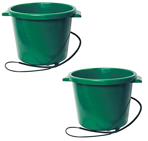 Farm Innovators HT-200 16 Gallon Heated Water Tub - Quantity 2 by Farm Innovators