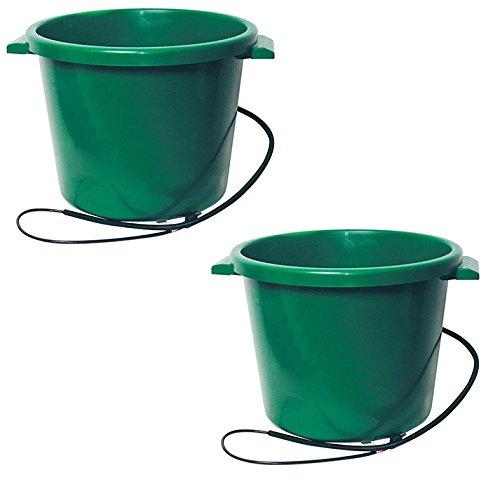 Farm Innovators HT-200 16 Gallon Heated Water Tub - Quantity 2 by Farm Innovators