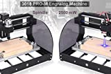 2-in-1 2500MW Laser Engraver CNC 3018 Pro-M