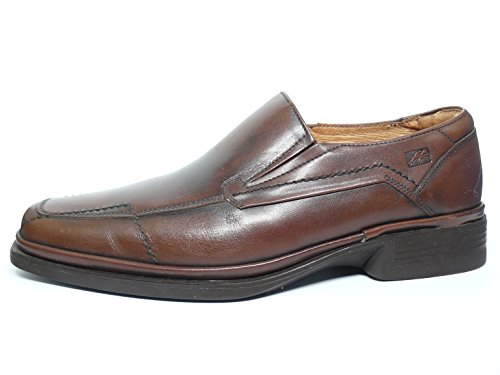 Marrón Tipo Mocasín Vestir 56 Fluchos Zapatos De 5407 Marron Piel Hombre AxPqwpw0