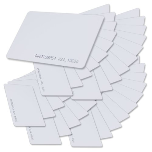 SainSmart Generic Contactless 125kHz TK4100 RFID Proximity ID Smart Entry Access Card (pack of 50)