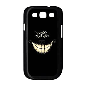 Customized We are all mad here Cell Phone Case for Samsung Galaxy S3 I9300 with Cheshire Cat Smile Face yxuan_4219969 at xuanz