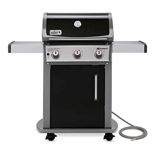 - Weber 47510001 Spirit E310 Natural Gas Grill, Black