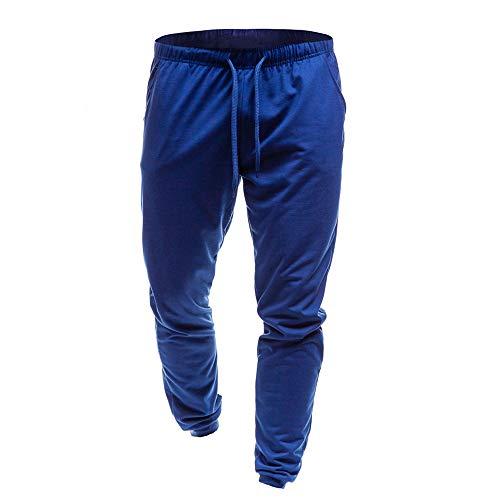 Mince De Pour Loisirs Supplémentaire Slim Jogging Jachère Bleu Sport D'été Coton Fitness Homme Kinlene Les Pants Pantalon qtw5BB