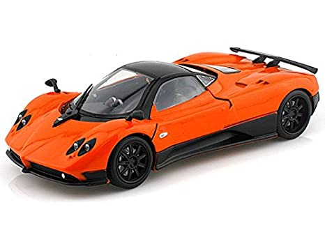 Pagani Zonda Summer Tires Online >> Amazon Com Pagani Zonda F 1 24 Orange Toys Games
