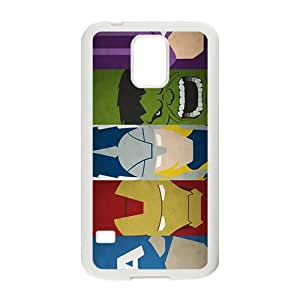 JIANADA The Avengers Cell Phone Case for Samsung Galaxy S5