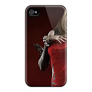 For 6Plus Iphone Protective Case, High Quality For Iphone 4/4s Aion_beautiful_girl Skin Case Cover Kimberly Kurzendoerfer