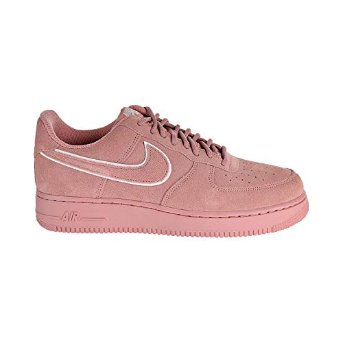 - NIKE Men's Air Force 1 '07 LV8 Suede Red Stardust AA1117-601 (Size: 8.5)