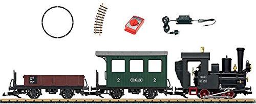 European Steam Starter Set -- LGB 0-4-0T, 2 Cars, Track Circle, Power Pack