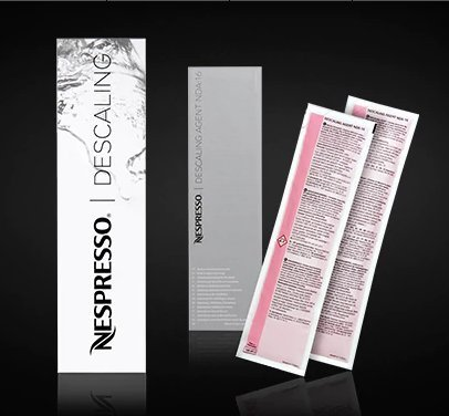 Nespresso DESCALING KIT Includes 2 Units New Version, New